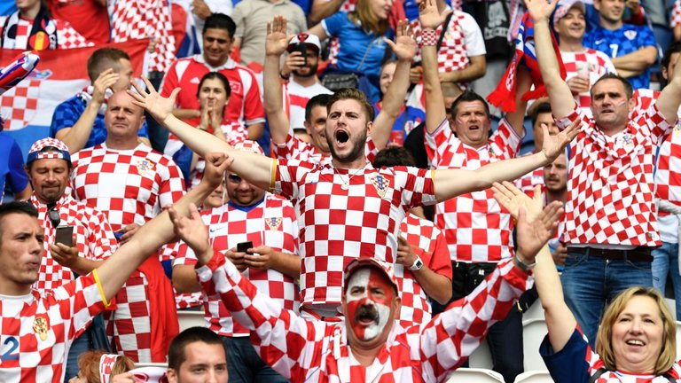 Image result for croatia fans